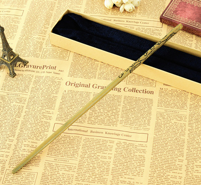 New Quality HP Deluxe Metal Core COS Luna Lovegood Magic Wand Of  Magical Wands With Gift Box Packing