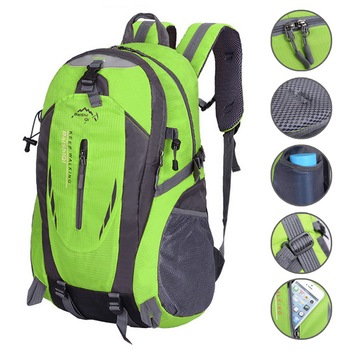 SHUJIN Waterproof Backpack Men Bag Hiking Travel Outdoor Bag Men Laptop Notebook Backpack Women Theft Sports Bag Mochila Escolar