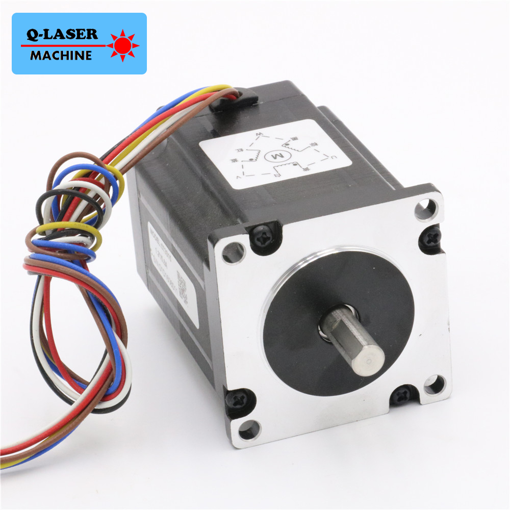 Leadshine 3 Phase Stepper Motor 573S15 for Laser Engraving Cutting Machine NEMA 23 Stepper Motor leadshine digital stepper motor drive dm442 for nema 16 to nema 23 motor