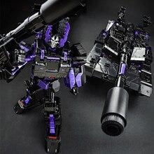 29 см аниме Классическая трансформация ABS, деформация, алмаз, темный сплав, танк, модель робота, автомобиль, экшн игрушки, фигурки, Детский развивающий подарок