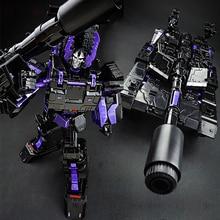 29cm אנימה קלאסי שינוי ABS עיוות יהלומים כהה סגסוגת טנק דגם רובוט רכב פעולה צעצועים דמויות קיד חינוך מתנה