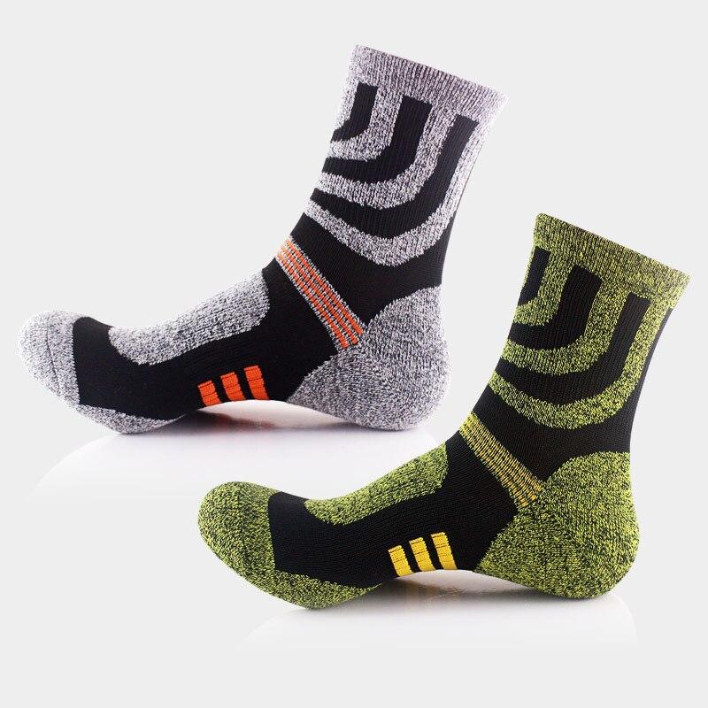 @1  10 пар / лот! Мужские носки для бега Толстые пуховые спортивные носки на открытом воздухе Альпинизм  ✔