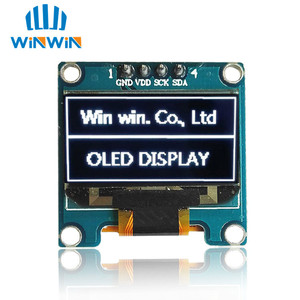 Image 5 - NEW 100pcs 0.96 inch IIC Serial White/Blue/Yellow OLED Display Module 128X64 I2C SSD1306 12864 LCD Screen Board  for Arduino