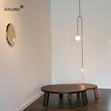 Nordic Minimalist Home Decor Pendant Lamp Bedroom Bedside Long Hanging Light Loft Lights Modern Lighting lustre