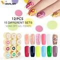 2019 Venalisa arte de uñas Consejos profesional de diseño de uñas manicura cosmética 60 colores uv led de pintura de esmalte de uñas laca geles