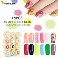 2019 Venalisa nail art tips design professional nail cosmetic manicure 60 colors uv led soak off paint nail polish lacquer gels