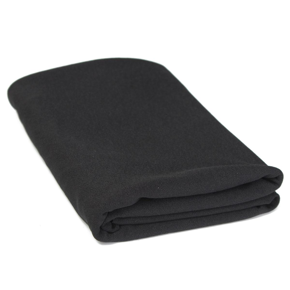 Nouveau Noir Haut-Parleur Grill De Protection Tissu Stéréo Gille Tissu Haut-Parleur Maille Tissu Épais 1.6mx0.5