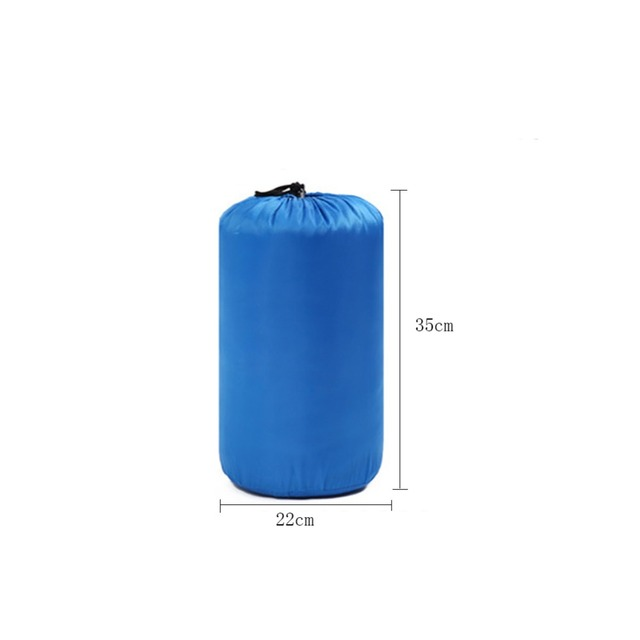 Ultra-light 800g Warm Sleeping Bag Outdoor Lunch Break Camping Envelope Style with Thin Hollow Cap Cotton Sleeping Bag