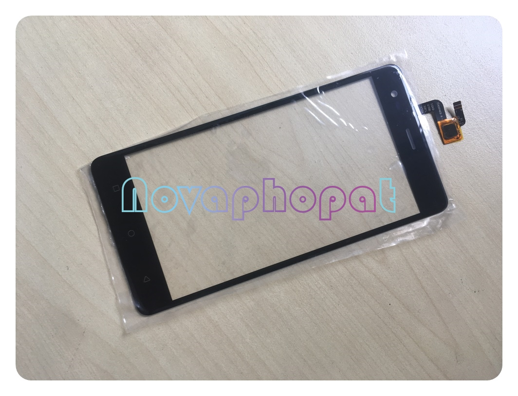 Novaphopat Black Touchscreen For Pretigio Grace R5 LTE PSP 5552 duo <font><b>PSP5552duo</b></font> Touch Screen Glass Digitizer Sensor Replacement image