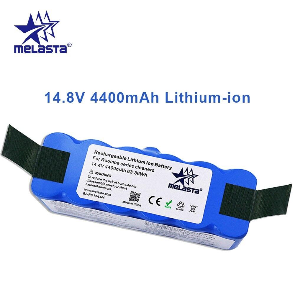 Bateria do li-íon de 14.8 v 4.4ah com células da marca para irobot roomba 500 600 700 800 510 séries 530 550 560 650 770 780 790 870 880 r3