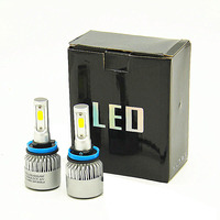 DHL доставка H4 светодиодный H7 H11 H8 9005 9006 HB4 H1 H3 HB3 Авто лампы фар 72 W 8000LM стайлинга автомобилей 6500 K светодиодный