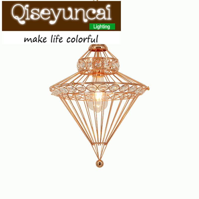 Qiseyuncai Creative Middle East style rose gold Iron Chandelier Southeast Asian personality  entrance living room E27 Chandelier  east asian multilateralism – prospects for regional stability