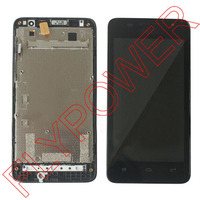 For Huawei Ascend G510 U8951 T8951 LCD Display With Touch Screen Digitizer And Frame Assembly Black
