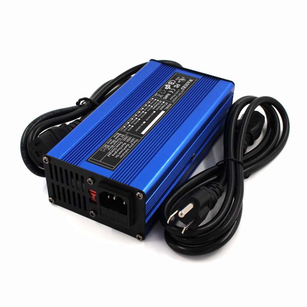 21 V 8A зарядное устройство 5s 18,5 V литий-ионная батарея умное зарядное устройство алюминиевый корпус Lipo/LiMn2O4/LiCoO2 Высокая мощность авто-стоп