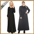 2017 Fashion Black Women Muslim Dresses Plus Size 7XL Islamic Clothing Abaya Dress Women Long Dress Elegant Arab Garment Abaya