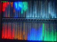 New 50cm Meteor Shower Rain Tubes Christmas Decorative String Light Led Lamp 100 240V EU US