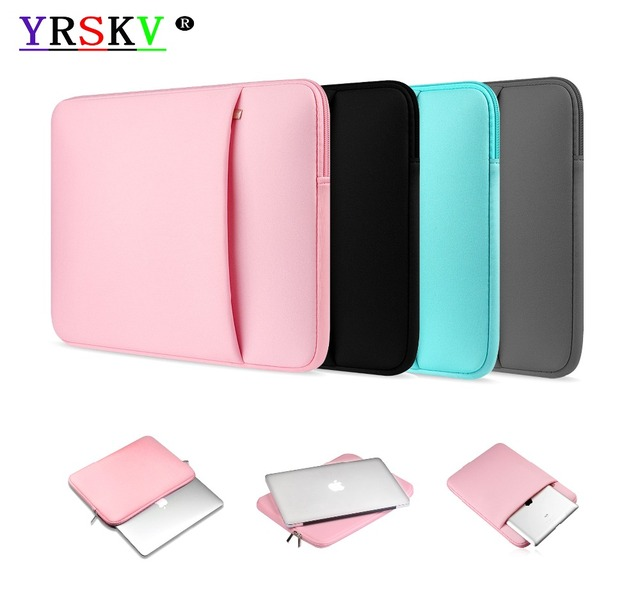 Soft cotton laptop bag YRSKV Case For Apple macbook Air,Pro,Retina,11.6`12`13.3`15.4 inch or Other laptop size 14`15.6 inch Bags