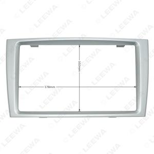 Image 5 - LEEWA Car Double Din DVD Radio Fascia Frame for PEUGEOT 308/408 Dashboard Panel Mount Installation Adapter Trim Kit #CA5191