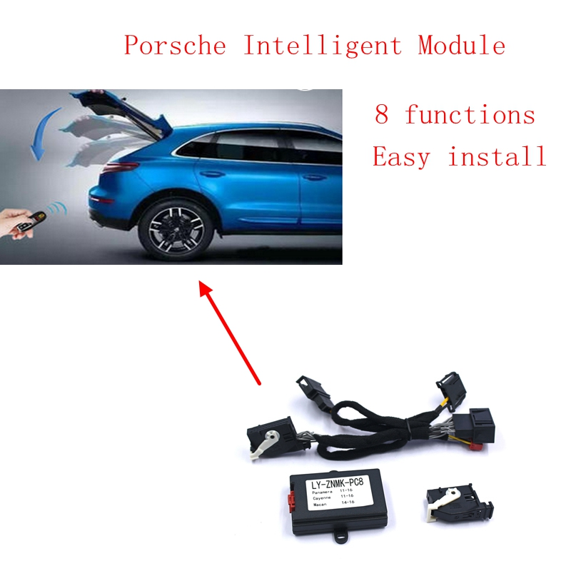PLUSOBD Remote Control Module Automatic Window Closer For Porsche Panamera Cayenne Macan 8 Functions For Remote Trunk Release  : 91lifestyle