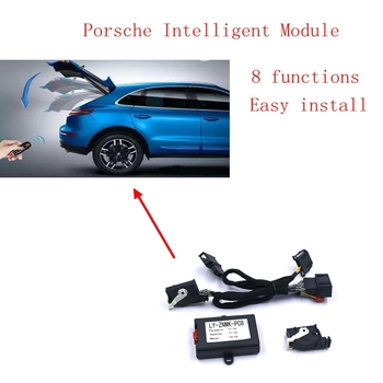 PLUSOBD Remote Control Module Automatic Window Closer For Porsche Panamera Cayenne Macan 8 Functions For Remote Trunk Release