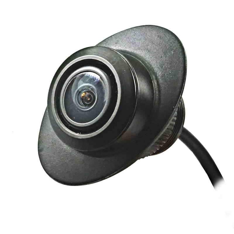 lowest price 600L CCD 180 degree camera Fisheye LENS wide angle Rear Front side view reverse backup camera 360 rotato night vision waterproof