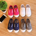 2016 New Autumn Children's Shoes Canvas Sneakers Boys And Girls Light Sets Footwear Baby's Flat Cotton Shoes Toddler's Sports