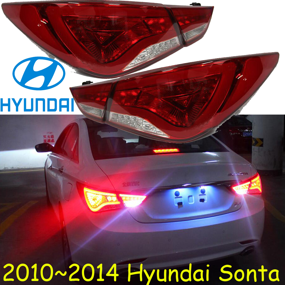 car-styling,Sonata Taillight,2011~2014/2015~2017,led,Free ship!4pcs,Sonata fog light;Sonata tail lamp,Chrome;Creta,Sonata car styling golf6 taillight 2011 2013 led free ship 4pcs golf6 fog light car covers golf7 tail lamp touareg gol golf 6