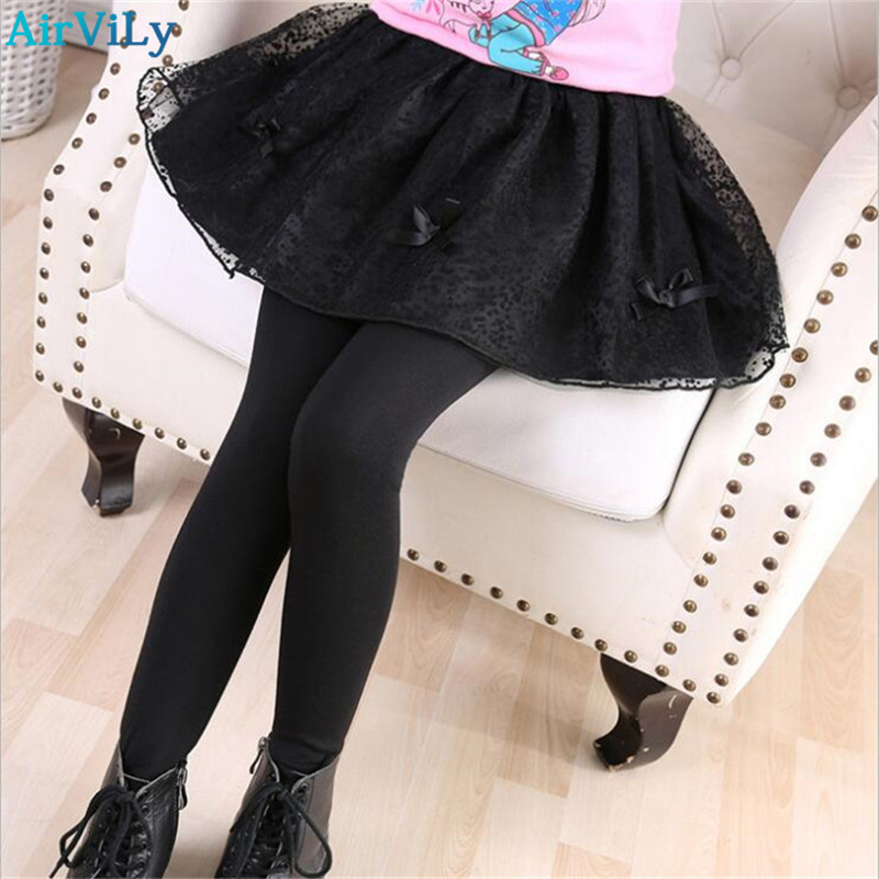 Spring Autumn Girls leggings Girls Skirt-pants Cake skirt Girl baby pants Teenage Children Cotton Tutu Trousers 3-14Years girls skirt pants 2018 autumn girls leggings with skirt girls dancing clothes children kids trousers pants for girl cake skirt