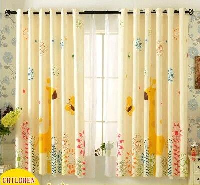 dibujos animados para nios sala cortinas de la ventana para habitacin del beb los nios de