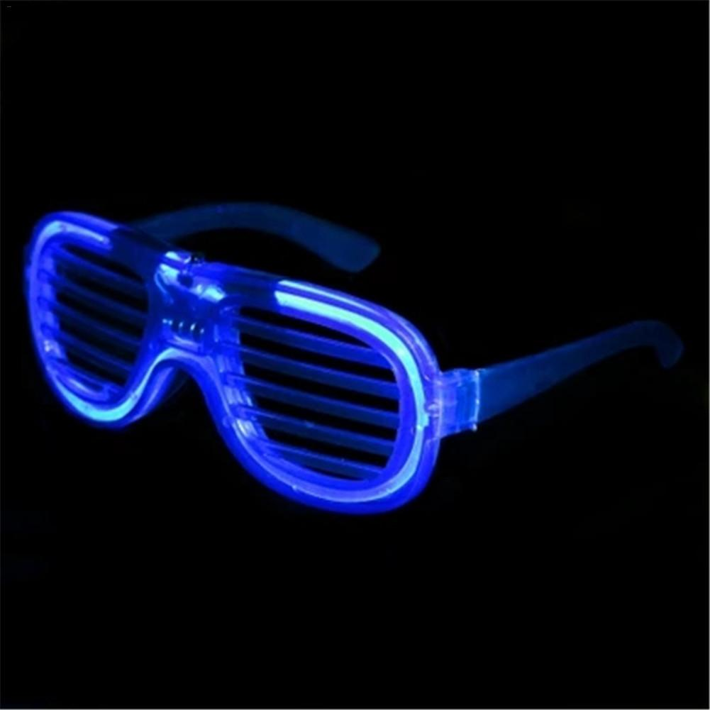 Cheap Shutters Shape LED Flashing Glasses Light up Kids Christmas Party Glowing Glass for Rave Costume Party Decoration Supplies ...