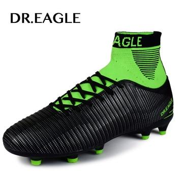 huge selection of 5a18e a7c69 DR. AQUILA scarpe da calcio per gli uomini di alta tacchetti da calcio  originale Con Calzini di Calcio Professionistiche Scarpa DA CALCIO CON ...