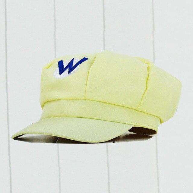 2019 Hot NS Game Super Mario Odyssey Cosplay Hat Adult Child Anime Super Mario Hat Cap Luigi Bros Cosplay Cap