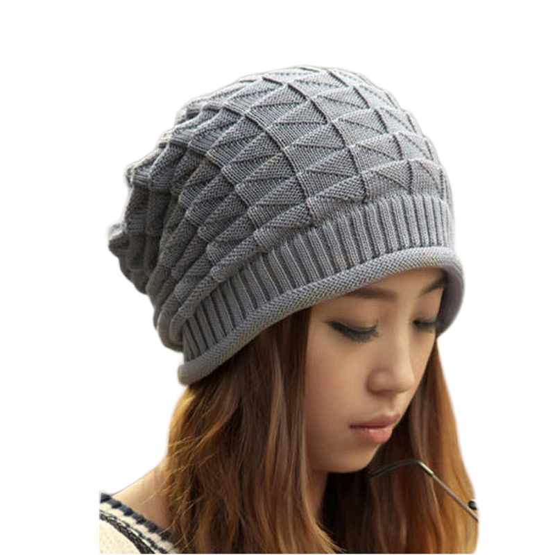 Winter Unisex Retro Cable Crochet Knitted Beanies Warm Skullies Toucas Baggy Slouch Oversize Hats Cap For Women Men Gorro 2017 new lace beanies hats for women skullies baggy cap autumn winter russia designer skullies