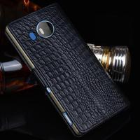 Nowe Luksusowe Oryginalny Marka Prawdziwa Skóra Krokodyla Przypadkach Telefonów Dla Nokia 950XL Mody Torby Telefon Dla Microsoft Lumia 950 XL