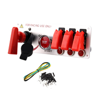 High Quality Racing Car 12V Ignition Switch Panel Engine Start Push Button LED Toggle for Car Auto
