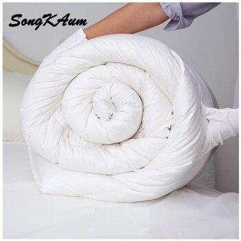 Новая мода вниз Стёганое одеяло Мягкое стеганое одеяло для осени и зимы King/полный Размеры одеяло/Одеяло/Стёганое одеяло вниз наполнитель В ...