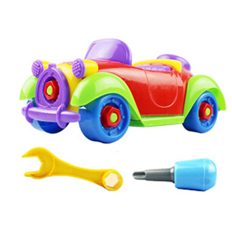 2016 New removable toy car nut educational toys for kid gift toys
