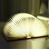 LED Reading Book Light USB Rechargeable Table Lamp 360 Degree Foldable Desk Nightlight 5Color Change Gift