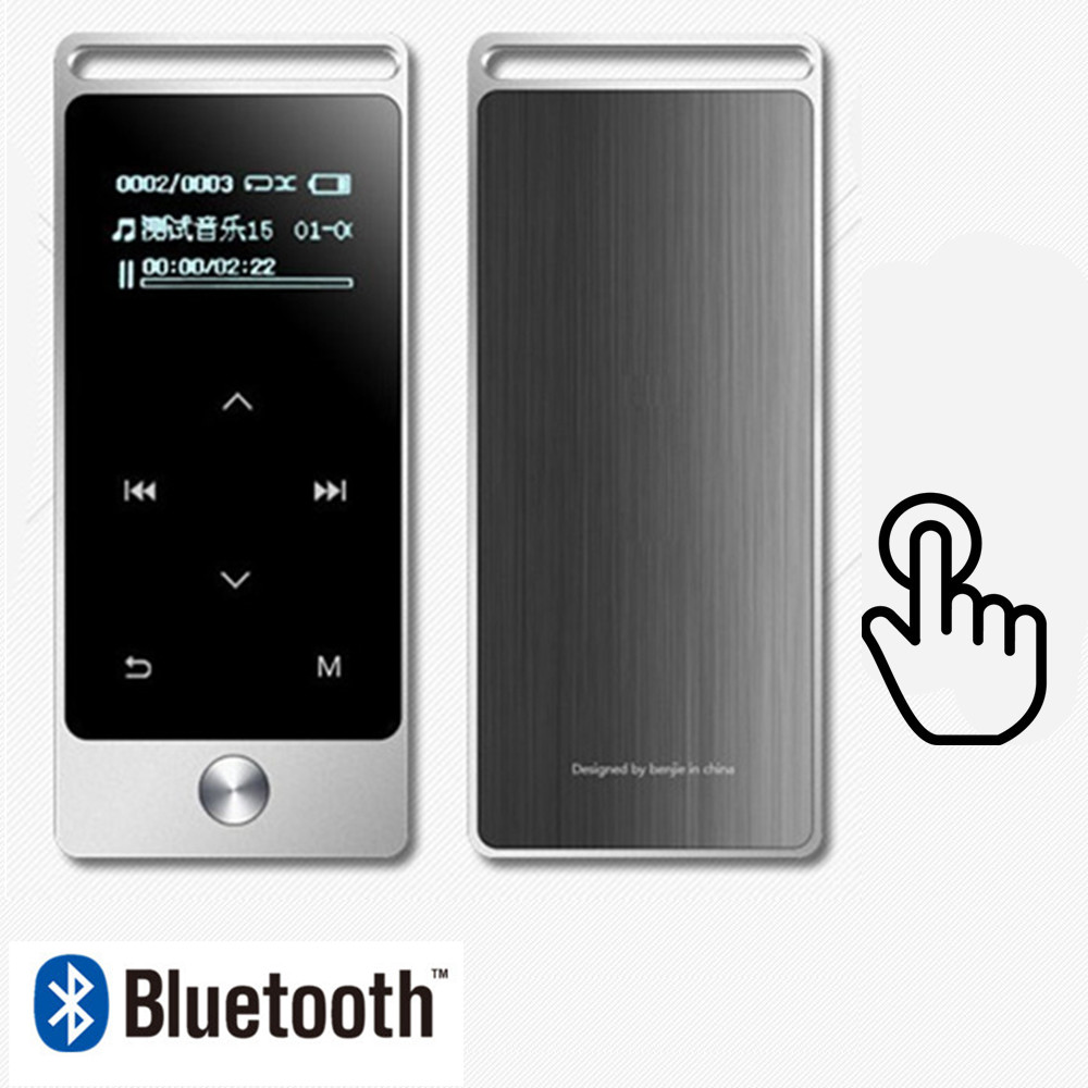 Newest Version Original Touch Screen MP3 Player 8GB BENJIE S5/S5B High Quality Entry-level Lossless MP3 Music Player with FM original benjie s5 real 8gb lossless hifi mp3 music player touch screen high sound quality metal mp3 e book fm radio clock data
