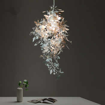 Modern Art Stainless Steel Phantom Droplight DIY Led Pendant Lights Lamp Fixtures for Cafe Bar Store Bedroom Dining Room - DISCOUNT ITEM  25 OFF Lights & Lighting