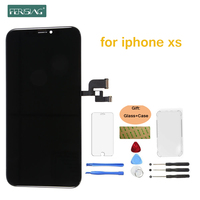FENISING OEM Оригинальный Топ AAAAA AMOLED для ЖК дисплей для iPhone XR XS ЖК дисплей 3D сенсорный экран дигитайзер сборка Замена