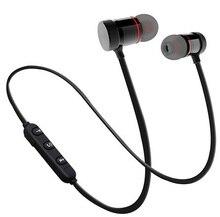 10 шт./лот M9 Bluetooth наушники Беспроводной Металлические Магнитные стерео Бас Беспроводные спортивные наушники-вкладыши с затычки в уши для микрофона