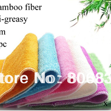 Dish Washing Cloth Bamboo-Fiber ANTI-GREASY Magic Wipping/cleaning-Rag 1000pcs/Lot Multi-Function