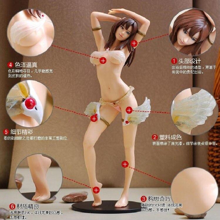 NEW Hot 33cm Sexy Adult Diskvision Eve Elsa PVC Figure Daiki Collectors Action Figure Toys Christmas No Box