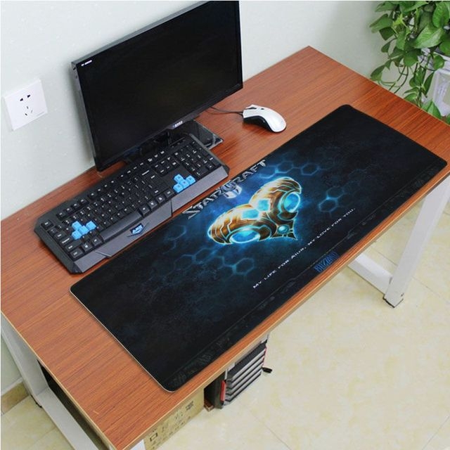 Yinuoda Beautiful Anime Starcraft Rubber Mouse Durable Desktop Mousepad Size for 180*220 200*250 250*290 300*600 and 400*900*2mm 5