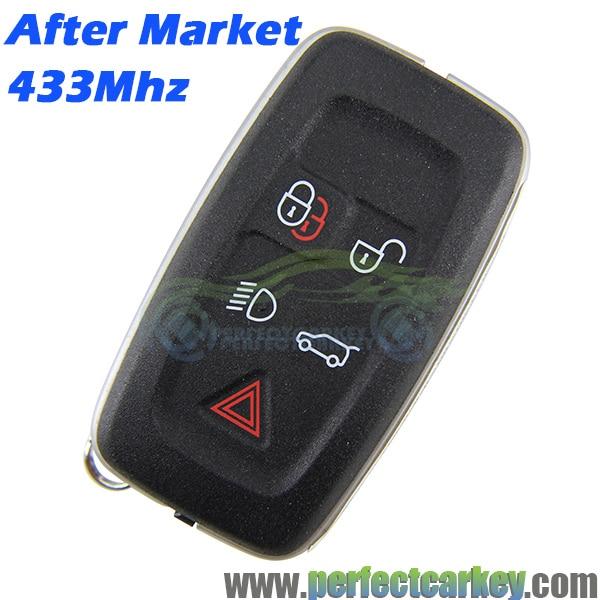 Prix pour LR032796 Après Marché 5 Bouton auto carte à puce smart key 433 Mhz CLÉ FOB ÉMETTEUR pour LAND ROVER RANGE ROVER EG4