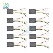 Interruptor táctil de lámpara de CA 220V, equipo eléctrico, partes del cuadro eléctrico, encendido/apagado, 1 vía, Sensor de Control táctil, interruptor de lámpara, 10 Uds.