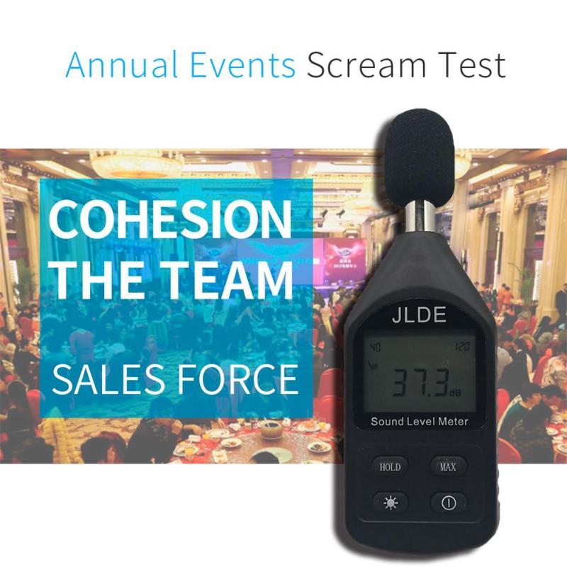 30-130 дБ Мини децибел метр регистратор шума аудио Уровень шума метр децибел шум измерительный прибор децибельный монитор