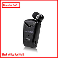Fineblue F-V2 Bluetooth Headset Earphone For IOS Android Mini Wireless Headphones 4.0 Retail Box