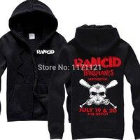RANCID Punk Revival Crimson Duch Czaszka Tiger Camo nowa bluza